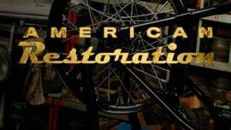American Restoration - Image: American Restoration Logo