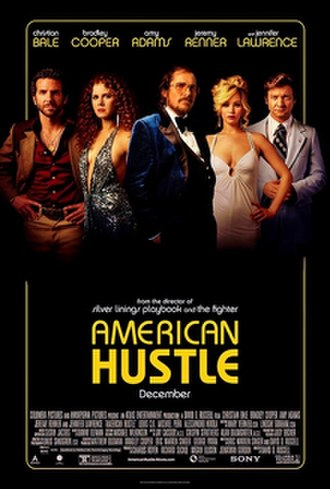 American Hustle - Theatrical release poster