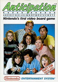 Image result for anticipation nes box art