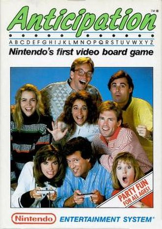Anticipation (video game) - North American cover art