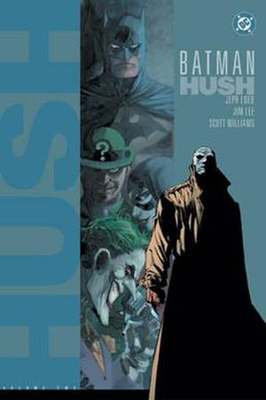 Hush (comics) - Cover to Batman: Hush Vol. 2 (December 2003). Pencils by Jim Lee.
