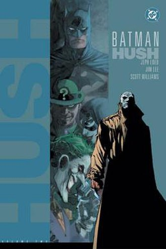 Hush (character) - Cover to Batman: Hush Vol. 2 (December 2003). Pencils by Jim Lee.
