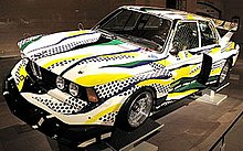 BMW Group 5 320i Roy Lichtenstein 1977.jpg