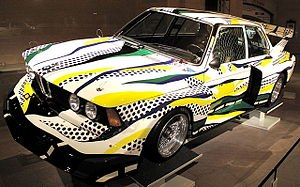 BMW Group 5 320i Roy Lichtenstein 1977