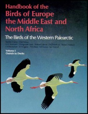 The Birds of the Western Palearctic - The cover of volume 1 of the full edition