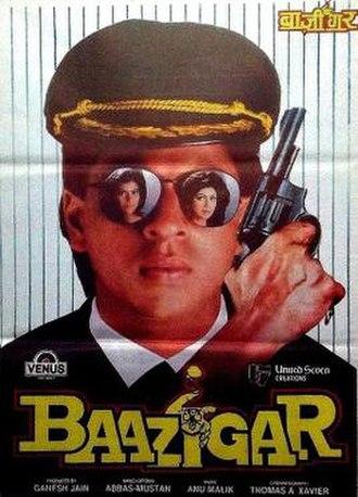 Baazigar - Release poster