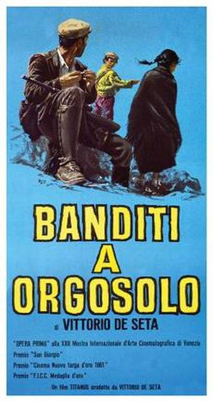 Banditi a Orgosolo - Theatrical release poster