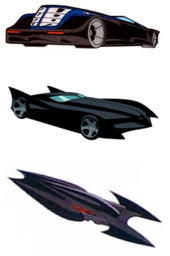 The Batmobile Throughout DC Animated Universe