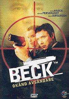 <i>Beck – Okänd avsändare</i> 2002 film by Harald Hamrell