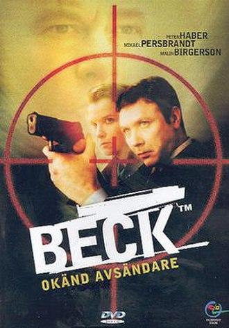 Beck – Okänd avsändare - Swedish DVD-cover