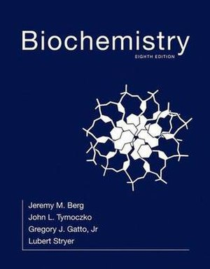 Biochemistry (Stryer) - Cover of the eighth edition.