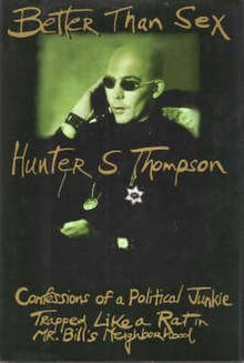Image result for hunter s thompson better than sex