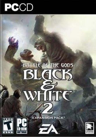 Black & White 2: Battle of the Gods - Image: Black & White 2 Battle of the Gods coverart