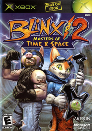 Blinx 2: Masters of Time and Space - Image: Blinx 2 Masters of Time and Space Coverart