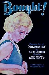 <i>Bought</i> 1931 film