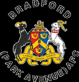 Bradford (Park Avenue) A.F.C. Association football club in Bradford, England