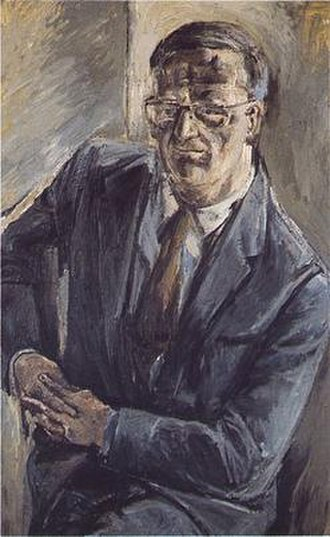 C. H. Sisson - Image: C.H.Sisson.portrait. by.Patrick.Swift