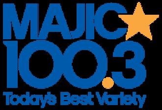 CJMJ-FM - Image: CJMJ Majic 100.3 logo