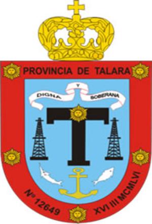 Talara - Image: COA Talara Province in Piura Region