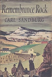 Carl Sandburg, Remembrance Rock, cover.jpg