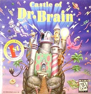 Castle of Dr. Brain - Cover art