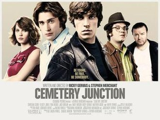 Cemetery Junction (film) - Cinematic release poster