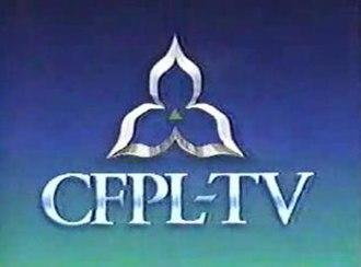CFPL-DT - CFPL-TV logo from 1993-1994