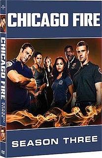 <i>Chicago Fire</i> (season 3) Season of television series