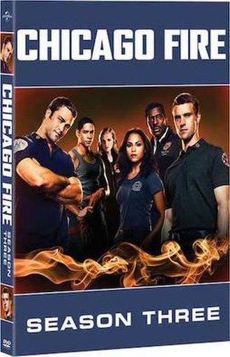 Chicago Fire (season 3) - Third season DVD cover