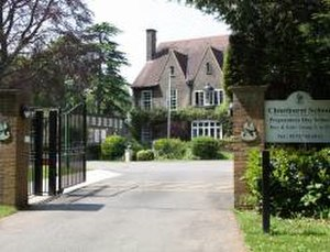 Chinthurst School -  Chinthurst School entrance