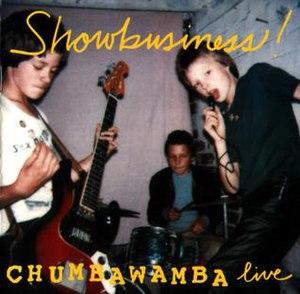 Showbusiness! - Image: Chumbawamba Album Cover Showbusiness