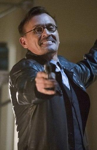 Clock King - Robert Knepper as William Tockman in Arrow.