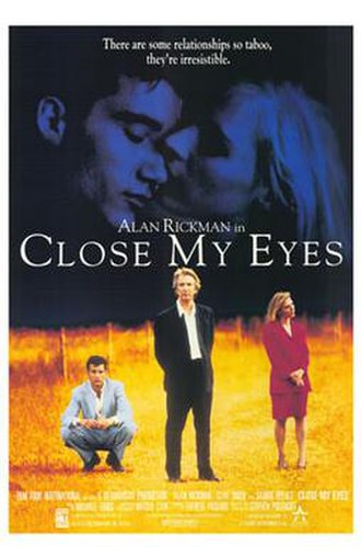 Close My Eyes (film) - US promotional poster for the film