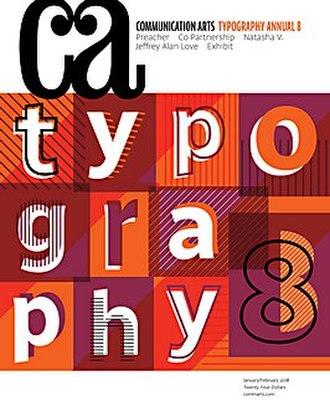 Communication Arts (magazine) - Typography Annual 8 (January-February 2018)