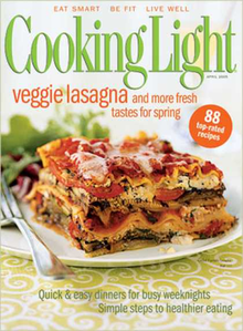 Cooking Light Magazine Cover.png Design Inspirations