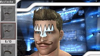 WWE 2K - The create-a-wrestler feature, as seen on WWE Smackdown vs Raw 2008