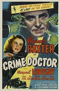 <i>Crime Doctor</i> (film) 1943 film by Michael Gordon