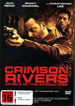 Crimson Rivers II: Angels of the Apocalypse - New Zealand DVD cover