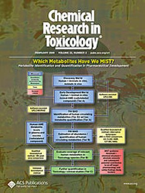 Chemical Research in Toxicology - Image: Crt cover