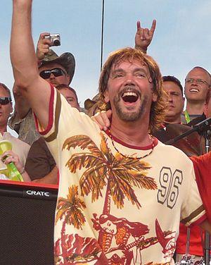 David Lauser - David Lauser on July 12, 2008 with Sammy Hagar
