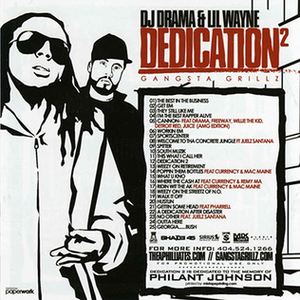 Dedication 2 - Image: Dedication 2 back