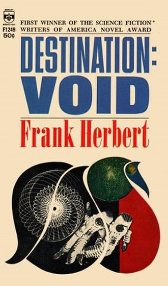 Destination: Void - Cover of first book edition (p/b)