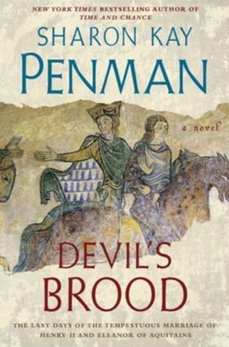 Devil's Brood - First edition dustjacket for Devil's Brood