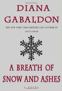 <i>A Breath of Snow and Ashes</i> book by Diana Gabaldon