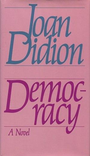 Democracy (novel) - First edition
