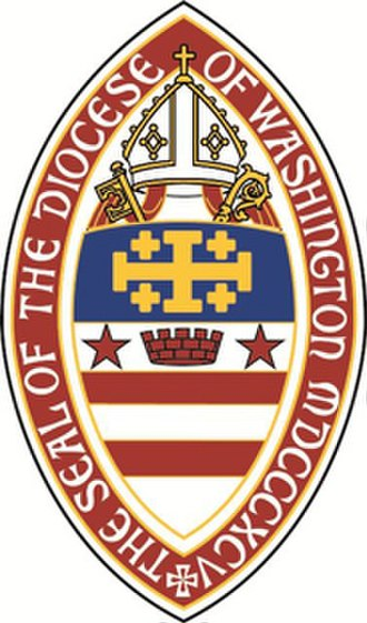 Episcopal Diocese of Washington - Image: Diocese of Washington seal