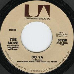 Do Ya (The Move song)