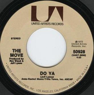Do Ya (The Move song) - Image: Do ya move