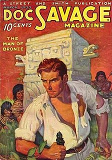 Doc Savage Fictional character in American pulp magazines during the 1930s and 1940s