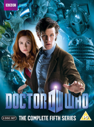 Doctor Who (series 5) - DVD box set cover art